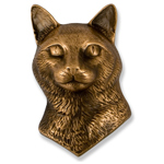 Michael Healy - Bronze Cat Door Knocker
