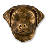 Michael Healy - Bronze Labrador Retriever Door Knocker