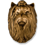 Michael Healy - Bronze Yorkshire Terrier Door Knocker
