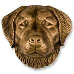 Michael Healy - Bronze Golden Retriever Door Knocker