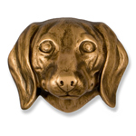 Michael Healy - Bronze Dachshund Door Knocker