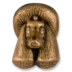 Michael Healy - Bronze Poodle Door Knocker