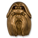 Michael Healy - Bronze Shih Tzu Door Knocker