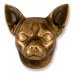 Michael Healy - Bronze Chihuahua Door Knocker