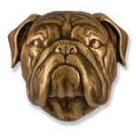 Michael Healy - Bronze Bulldog Door Knocker