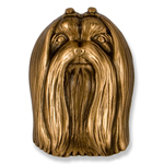 Michael Healy - Bronze Maltese Door Knocker