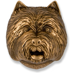 Michael Healy - Bronze West Highland Terrier Door Knocker