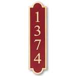 Michael Healy - 1 Line Vertical Double Arch Bronze Address Plaques