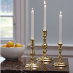 Williamsburg - Powell Brass Candlesticks