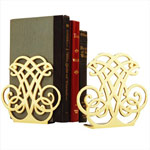 Jefferson Brass Bookends