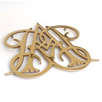Williamsburg - Polished Brass Queen Anne Trivet