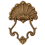 SPI Gallery - Scroll Doorknocker - Bronze