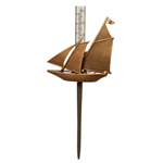 Williamsburg - American Schooner Rain Gauge