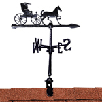 "Whitehall - Black 24"" Country Doctor Accent Weathervane"