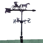 Whitehall - Black 30&quot; Country Doctor Weathervane