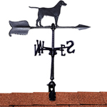 "Whitehall - Black 24"" Retriever Accent Weathervane"