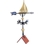 "Whitehall - 46"" Sailboat Weathervane"