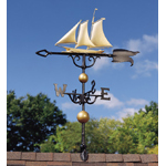"Whitehall - 46"" Yacht Weathervane"