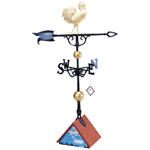 "Whitehall - 46"" Rooster Weathervane"