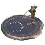 Whitehall - Golfer Sundials