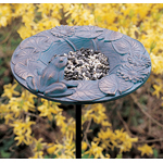 Whitehall - Frog Garden Bird Feeder