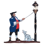 Whitehall - Lamplighter Mailbox Ornaments