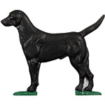 Whitehall - Black Lab Mailbox Ornaments