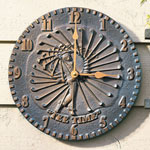 Whitehall - Golfer Outdoor Clocks