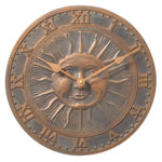 Whitehall - Sunface Outdoor Clocks