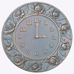 Whitehall - Rose Outdoor Clocks