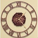 Whitehall - Rosette Floating Ring Outdoor Clocks
