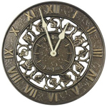 Whitehall - Ivy Silhouette Outdoor Clocks