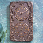 Whitehall - Acanthus Outdoor Clock &amp; Thermometer Combos