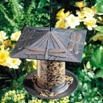 "Whitehall - 6"" Dragonfly Tube Bird Feeders"