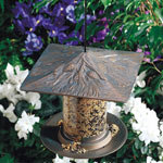"Whitehall - 6"" Pinecone Tube Bird Feeders"