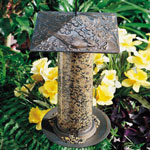 "Whitehall - 12"" Cardinal Tube Bird Feeder"