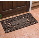 Whitehall - French Bronze Welcome Oakleaf Door Mat