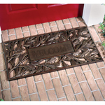 Whitehall - French Bronze Pinecone Welcome Door Mat