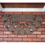 Whitehall - French Bronze Welcome Pineapple Door Mat