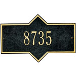 Whitehall - 1 Line Hampton Wall Mount Address Plaque