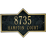 Whitehall - 2 Line Hampton Wall Mount Address Plaques
