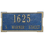 Whitehall - 2 Line Roanoke Address Plaques