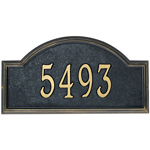 Whitehall - 1 Line Classic Providence Arch Address Plaques