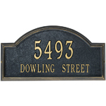 Whitehall - 2 Line Classic Providence Arch Address Plaques
