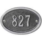Whitehall - 1 Line Ultra Petite Oval Entryway Plaques