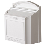 Whitehall - Wall Mount White Residential Mailbox