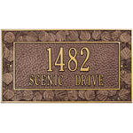 Whitehall - 2 Line Aspen Wall Address Plaques