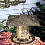 "Whitehall - 6"" Oakleaf Tube Bird Feeder"