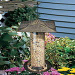 "Whitehall - 12"" Pinecone Tube Bird Feeder"
