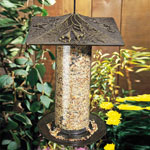 "Whitehall - 12"" Trumpet Vine Tube Bird Feeder"